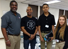 Jeremy Anderson Visits Pathways