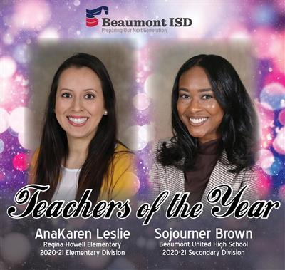 BISD Teachers of the Year 2020-21