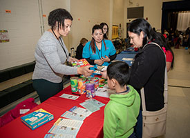 Bilingual Outreach Event Attracts Huge Crowd