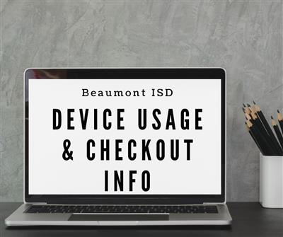 Device Usage and Checkout Information