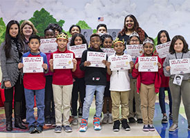Top Readers Recognized at Read-a-Thon
