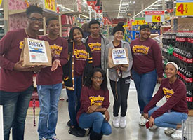 BU Tackles Hunger with H-E-B