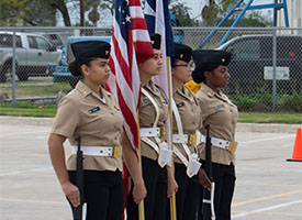 West Brook NJROTC Heads to State Championship
