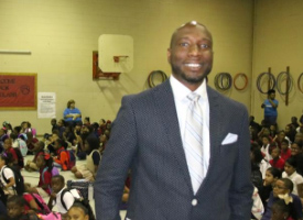 Joshua Dickerson at Homer Drive Elementary