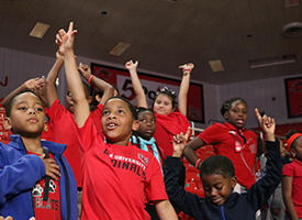 Students Rewarded with Lamar Basketball
