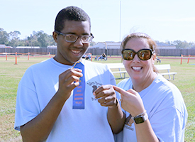 AFL Students Enjoy Relay Day