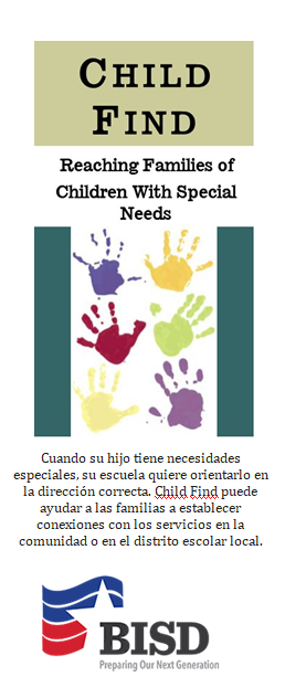 Child Find Brochure - Spanish