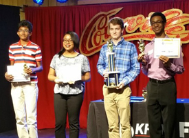 West Brook Channel 6 Challenge Team Wins 2nd Place
