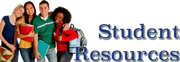Student Resources Header