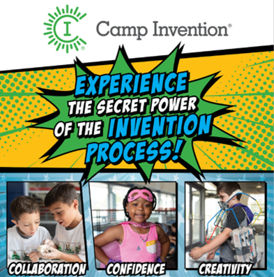 Sign Up for Camp Invention Today!