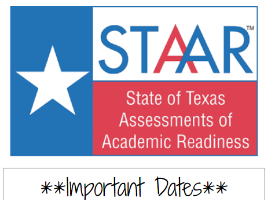 STAAR test information for April 6th