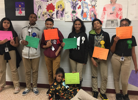 Smith Hosts 1st Annual Express Yourself Art Contest
