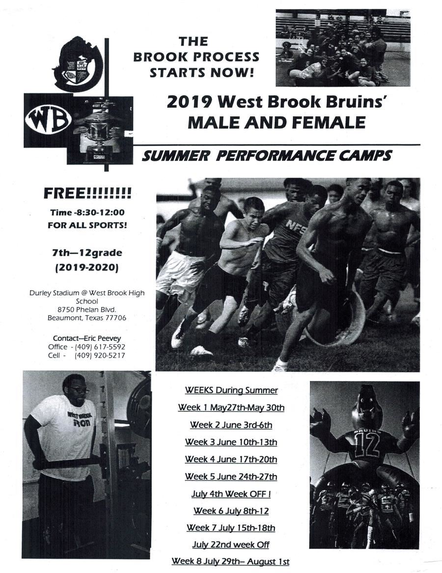 Summer Performance Camps