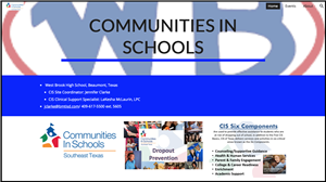 Communities in Schools Main