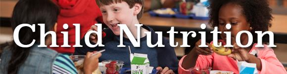 Child Nutrition Header