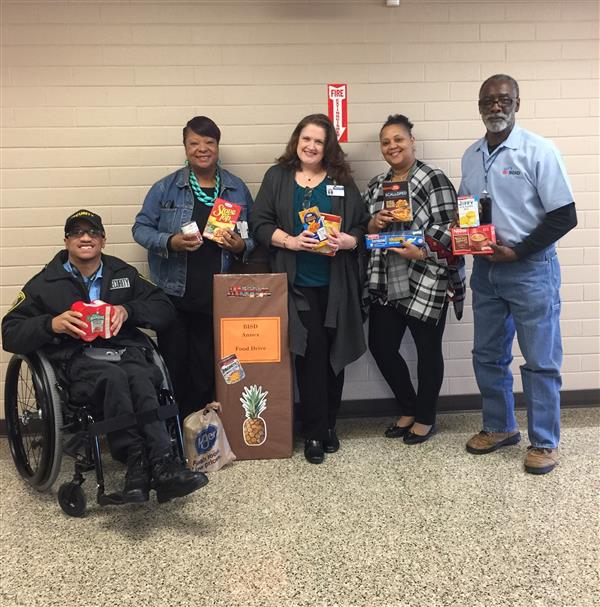BISD Thanksgiving Food Drive